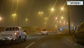 Met Dept warns of poor visibility tonight