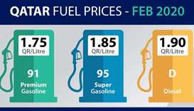 No change in fuel prices for February