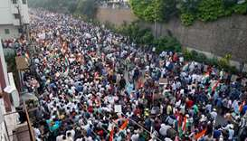 Huge march in southern India to protest citizenship law