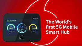 Vodafone first in region to launch HTC 5G mobile smart hub