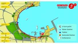 Ooredoo Doha Marathon to take place Friday