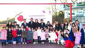 Qatargas launches campaign supporting orphans in South Korea