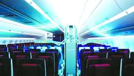 Qatar Airways has introduced Honeywell's state-of-the-art Ultraviolet Cabin System.
