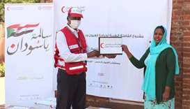 QFFD, QRCS deliver essential medical supplies to eye hospital in Sudan