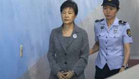 Park Geun-hye was convicted in 2018 of bribery and abuse of power.