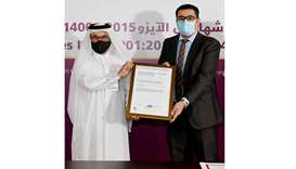 Ashghal awarded two ISO recognitions