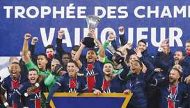 Neymar helps PSG to Champions Trophy win over Marseille