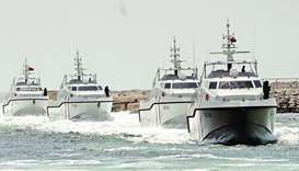 A fleet of long range boats operated by the General Department of Coast and Border Security.