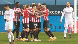 Bilbao face Barca in Super Cup final after ousting Real