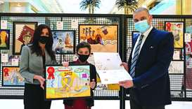 Mall of Qatar concludes National Day School Art Competition