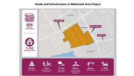 Roads and Infrastructure Development Project kicks off in Mebaireek