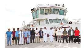 Marine monitoring network for water quality on Qatari coasts
