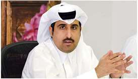 Qatar Chamber general manager Saleh bin Hamad al-Sharqi.