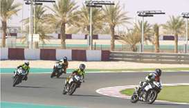 Participants get ready for Qatar Superstock and Qatar Touring Car Championship