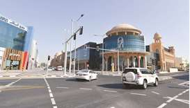 Ashghal has completed development works in Al Nasr area in order to ease the traffic