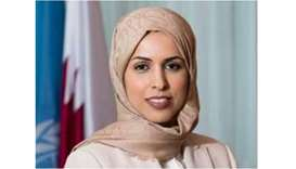 HE the Permanent Representative of the State of Qatar to the United Nations Ambassador Sheikha Alya