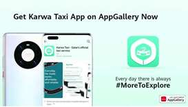 Karwa Taxi app on Huawei AppGallery
