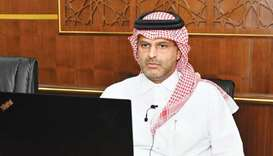 Qicca board member for International Relations Sheikh Dr Thani bin Ali al-Thani.
