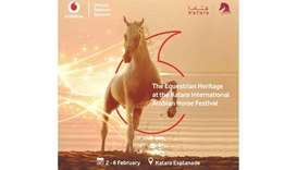 Vodafone named official telecom partner of Katara International Arabian Horse Festival