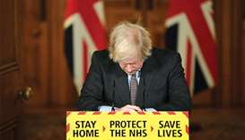 "Prime Minister Johnson: ""I am deeply sorry for every life that has been lost and, of course, as prim"