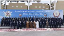 Amir patronises graduation of 8th batch of Al Zaeem Air College