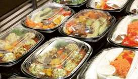 readymade /prepackaged meals