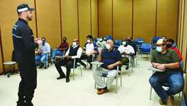 The training course includes theoretical and training sessions under the supervision of trainers fro
