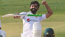 Fawad hits 'dream' century to put Pakistan in charge