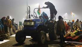 Indian farm protesters reinforce after standoff with police