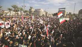 Anti-US chants as Iraqis mourn commanders killed a year ago