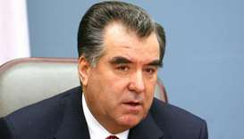 Tajik president hails promising co-operation with Qatar