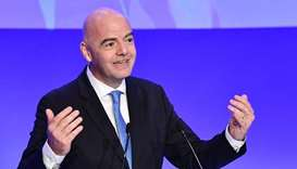 FIFA president welcomes landmark deal between Gulf countries