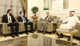 Deputy PM meets US Secretary of Treasury