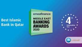 QIB named 'Best Islamic Bank in Qatar' for 4th consecutive year by EMEA's Middle East Banking Awards