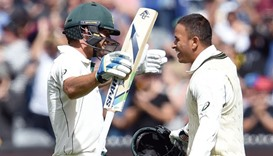 Burns and Khawaja pummel Windies on Boxing Day