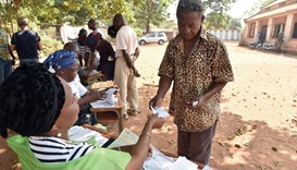 Security tight for volatile C Africa's landmark polls