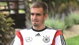 Manager Bierhoff says Germany still seeking to gel but rules out Lahm comeback