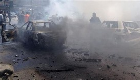32 killed, 90 wounded in bomb blasts in Syria's Homs