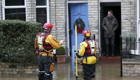 Cameron visits flood-hit British city of York