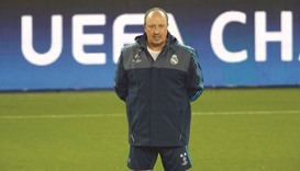 Benitez walking the tightrope at troubled Real