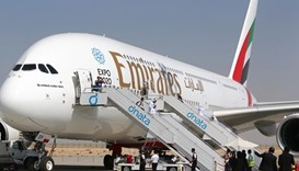 Emirates says annual profit surged 56% to $1.9bn