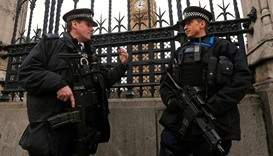 Extra armed police out in London for New Year's Eve