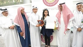Qatar Cancer Society signs child survivor as honorary ambassador