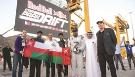 Omani trio dominate Red Bull Car Park Drift final podium