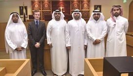 QICDRC welcomes official delegation from DIFC Courts