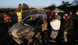 Over 30 dead as Kenya tanker crashes, explodes