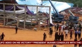 Nigeria church roof collapse leaves over 50 dead