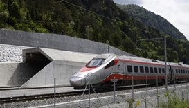 World's longest tunnel opens regular service in Switzerland