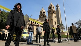 At least 25 dead in anti-Christian blast in Cairo