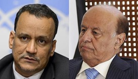 UN envoy meets Yemen's Hadi in new peace bid